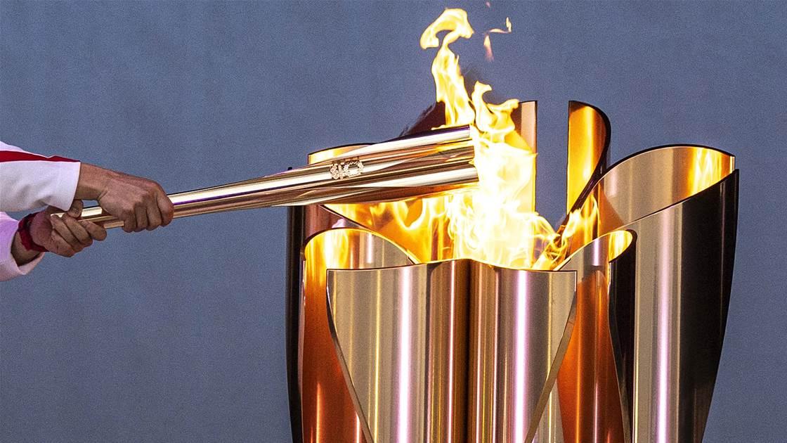 Matsuyama open to lighting Tokyo cauldron