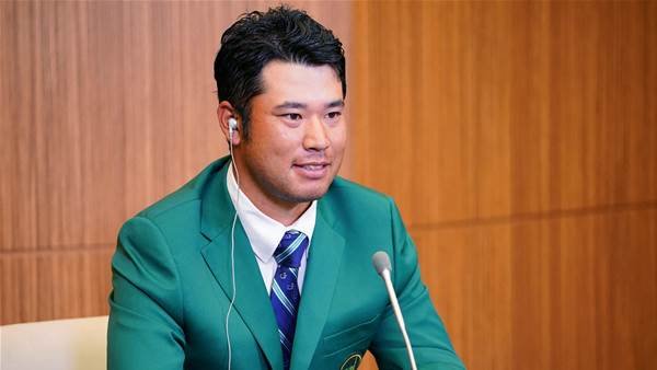 Masters hero Matsuyama receives PM's Award