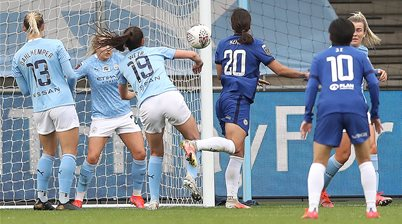 Kerr stars as Chelsea edge near WSL title