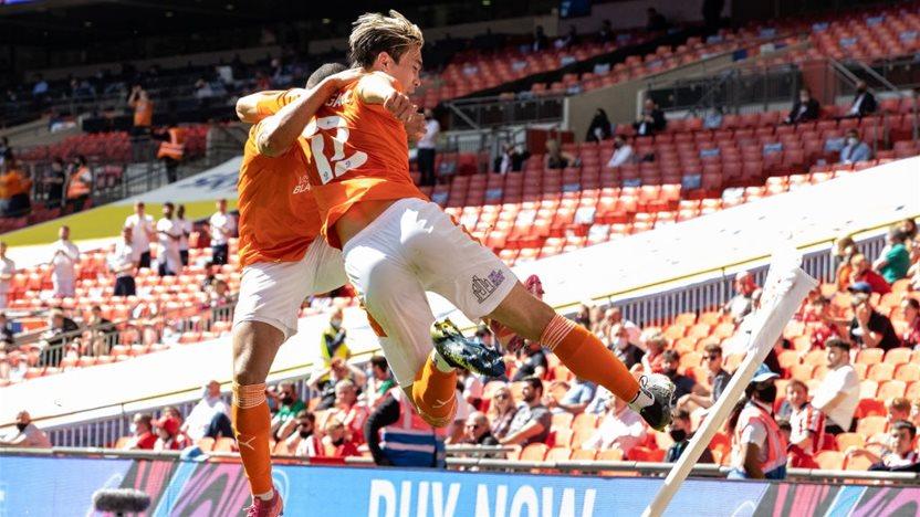 Socceroo fires Blackpool into Championship