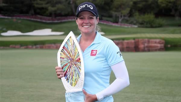 Ewing claims LPGA Match Play title