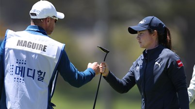 Maguire goes on birdie blitz at Lake Merced