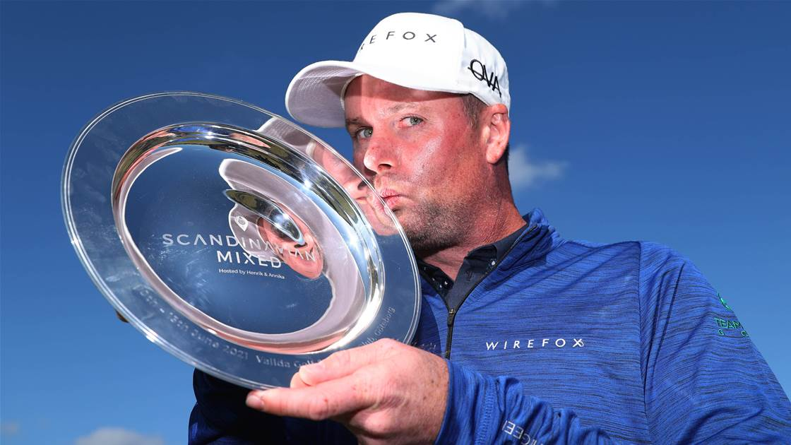 Caldwell beats Aussies to Mixed title