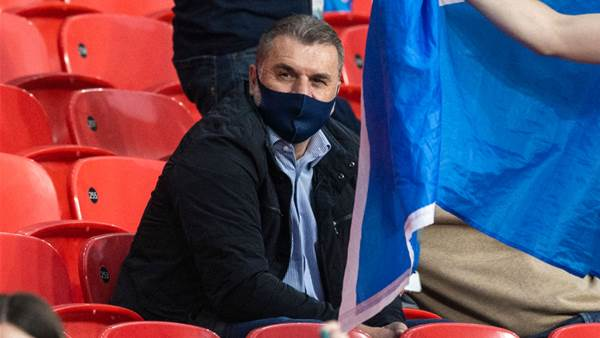 Postecoglou: Celtic will 'feel the difference straight away'
