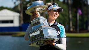 A major for Nelly Korda and No.1 world ranking