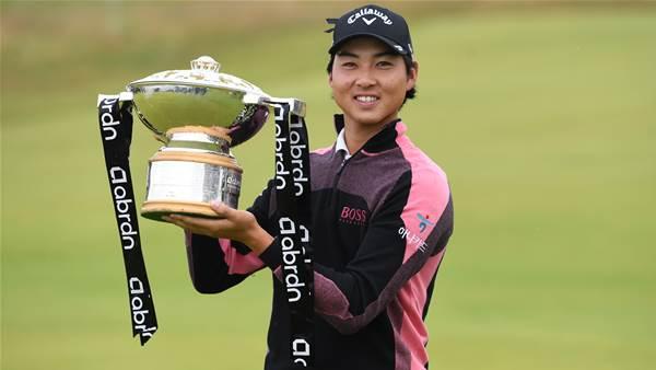 Aussie Min Woo Lee wins Scottish Open