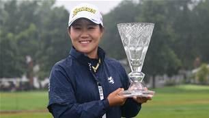 Hataoka claims rain-hit Marathon LPGA Classic