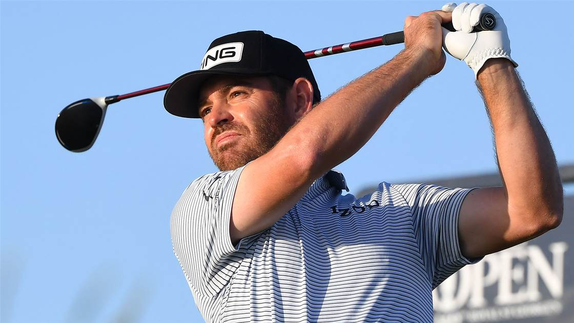 Oosthuizen on course for wire-to-wire Open win