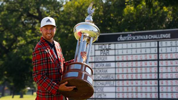 Berger wins playoff in PGA Tour's return