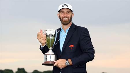 Johnson hangs on to win 21st PGA Tour title