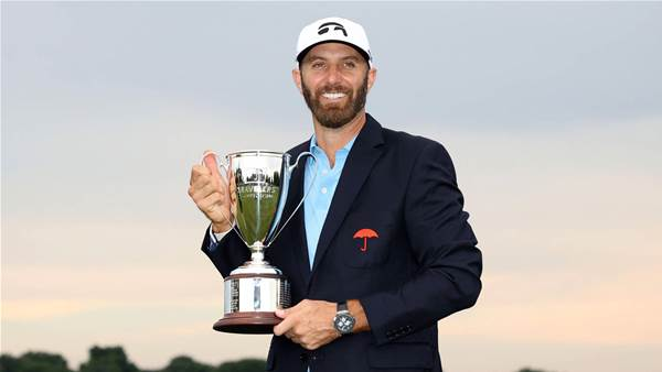 Johnson hangs on to win 21st PGA Tour title
