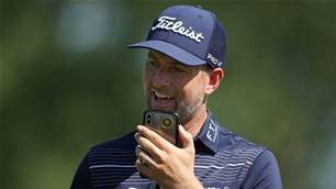 Simpson back on PGA Tour after virus scare