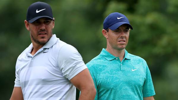 McIlroy surprised by Koepka's DJ sledge