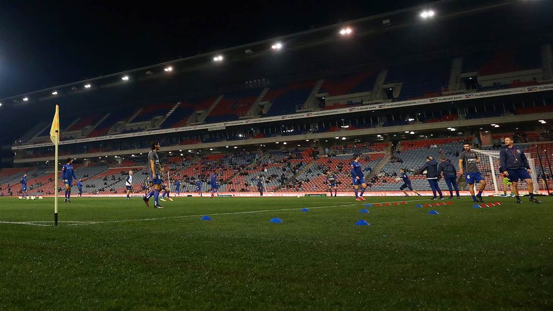 A-League may keep crowds despite virus case