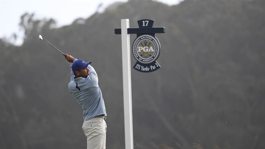 Day remains in the hunt, chasing Li at US PGA