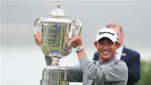 Morikawa claims maiden major title in thrilling US PGA