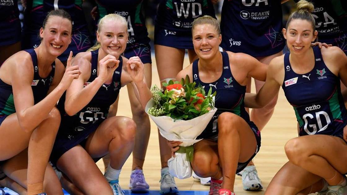 Melbourne Vixens have become the team to beat
