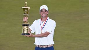 Strafaci adds to family legacy with US Amateur Victory