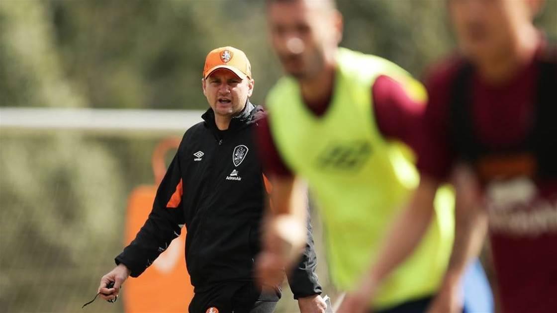A-League's youngest coach says 'go hard or go home'