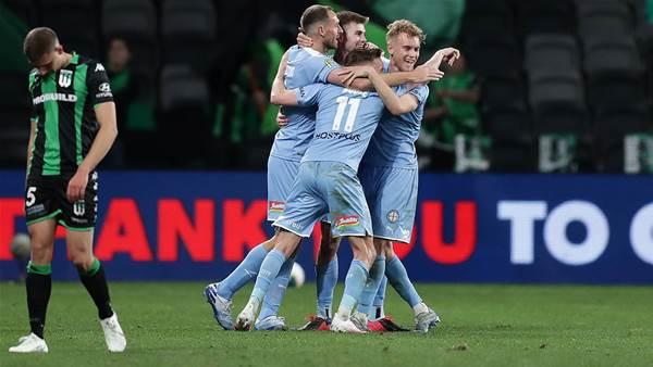 City end United dream to reach A-League GF