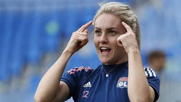 Matildas' Carpenter scores first Lyon goal