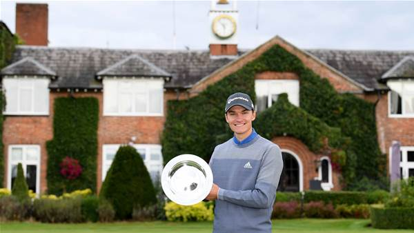 Højgaard outlasts Walters at The Belfry