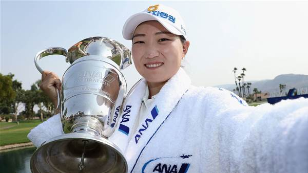 Mirim Lee wins ANA Inspiration