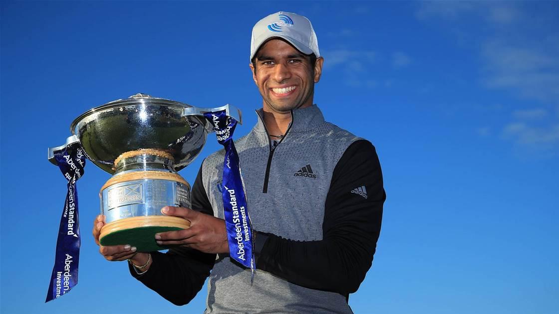 Herbert slips away, Rai wins Scottish Open