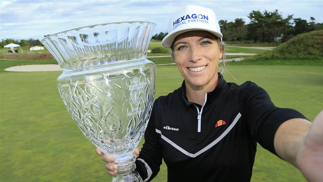 Reid captures maiden LPGA Tour title