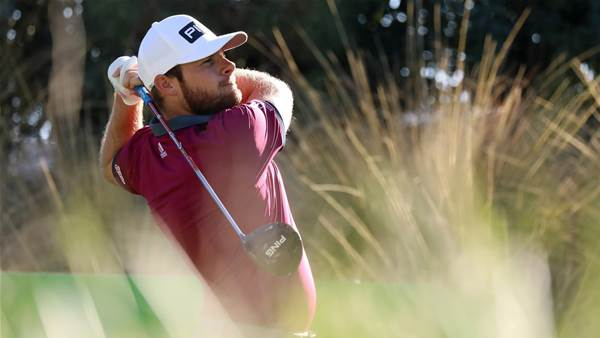 Hatton beats jet lag to lead CJ Cup