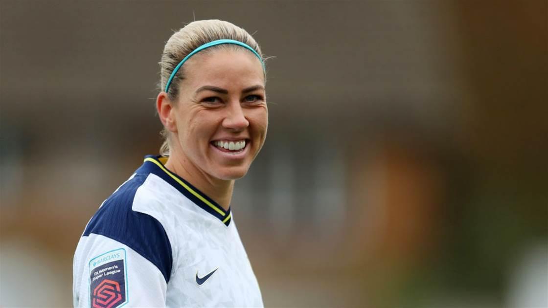 Matildas star leaves Tottenham Hotspur