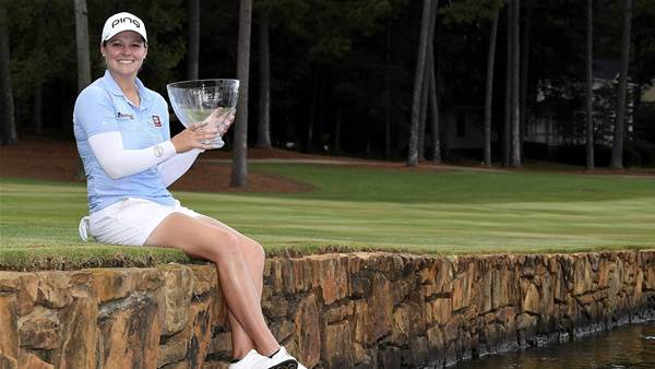 McDonald secures maiden LPGA Tour victory