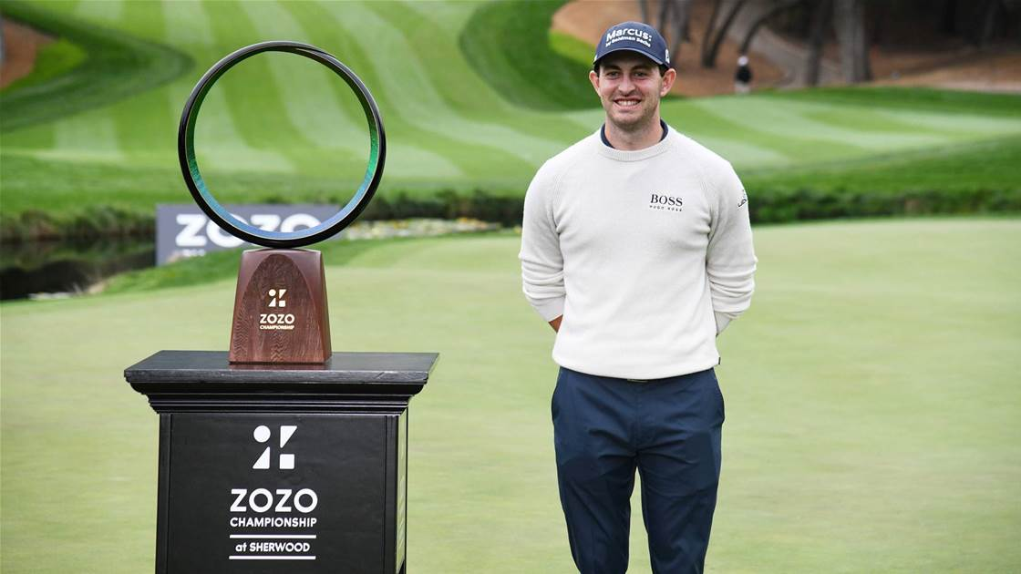 Cantlay powers to ZOZO win, Smith T4th