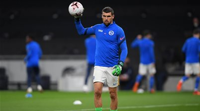 Mat Ryan dropped from Brighton line-up for 'tactical' reasons