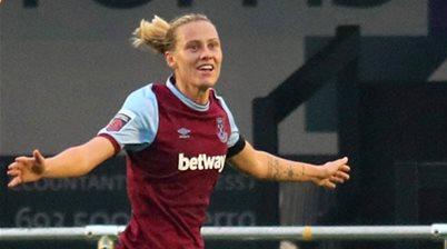 'It's great to stay here....' - 'Consummate' Van Egmond in West Ham deal