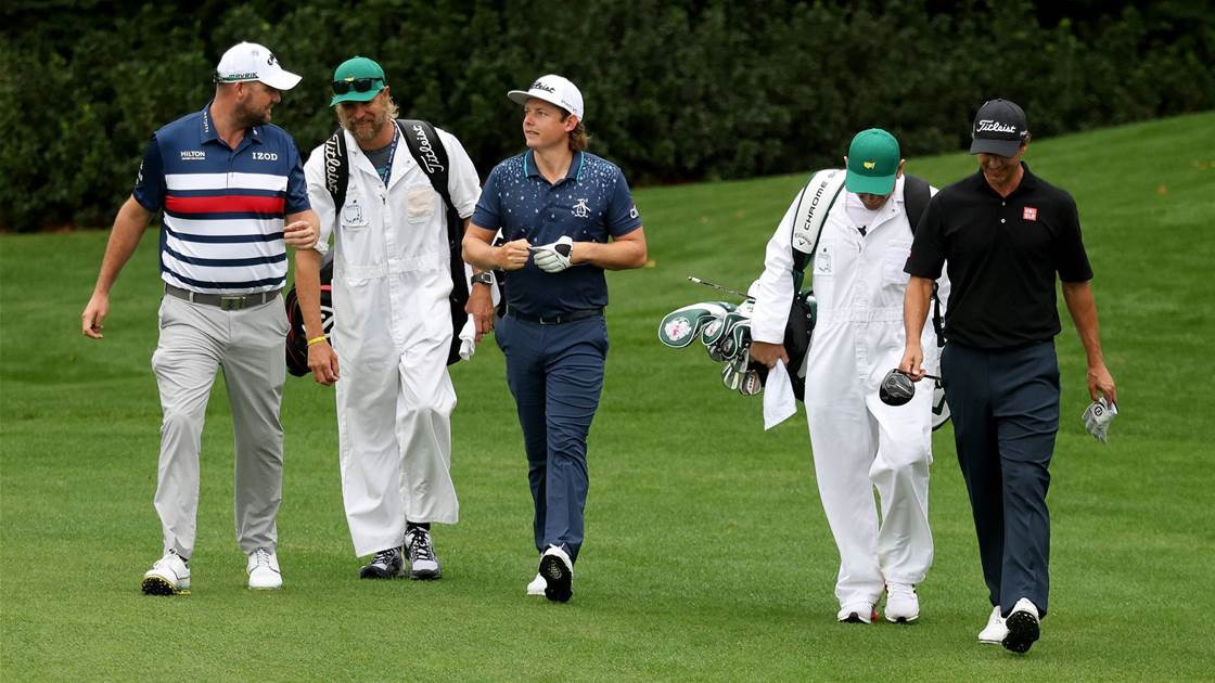 Smith ready to pounce at Augusta