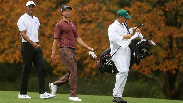 Scott fine tunes for Masters with Tiger