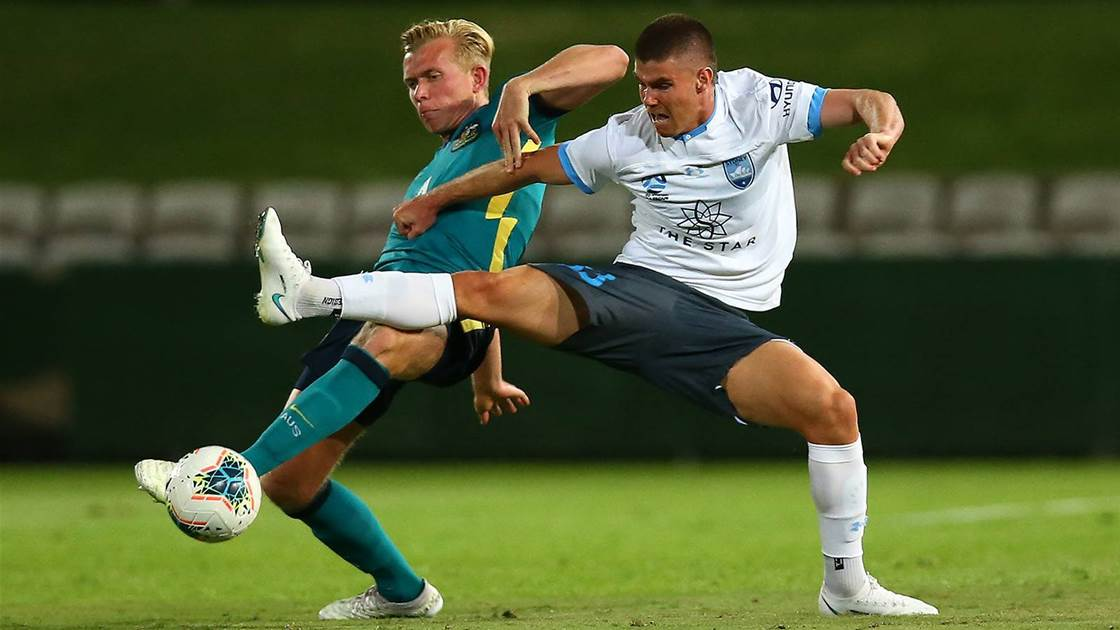 'We played some very good stuff' - Olyroos downed by ACL-bound Sydney