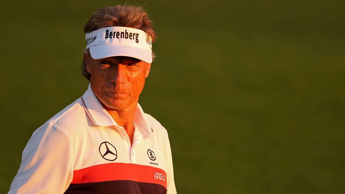 Interview: Langer sets Masters record