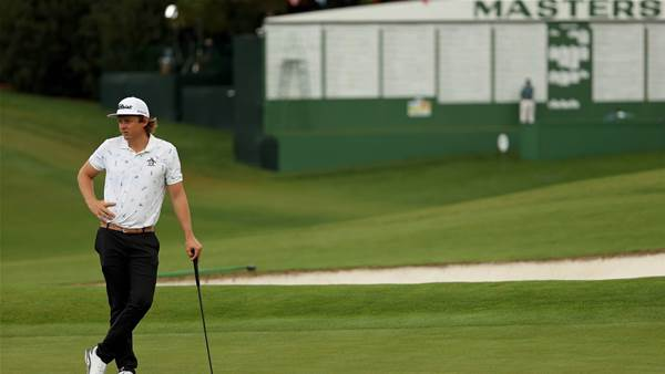 Smith joins big names on top in Masters