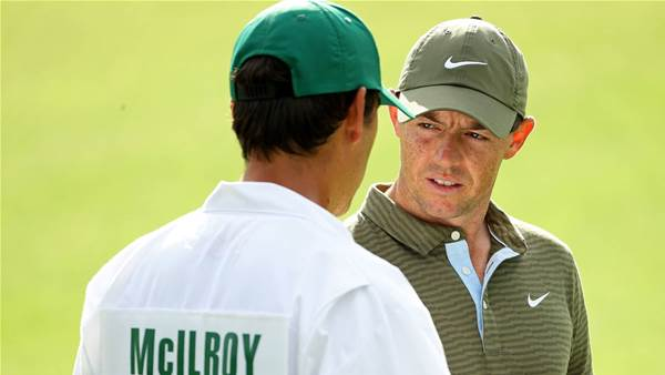 'Colourful' pep talk gets McIlroy going