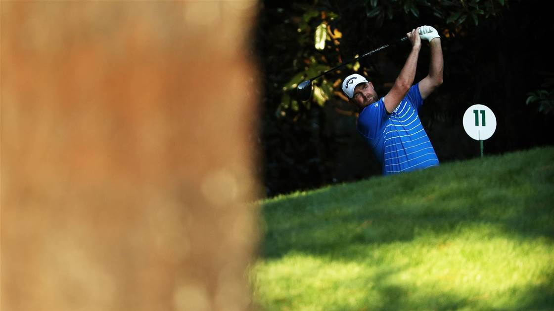 Leishman finds his groove at Augusta