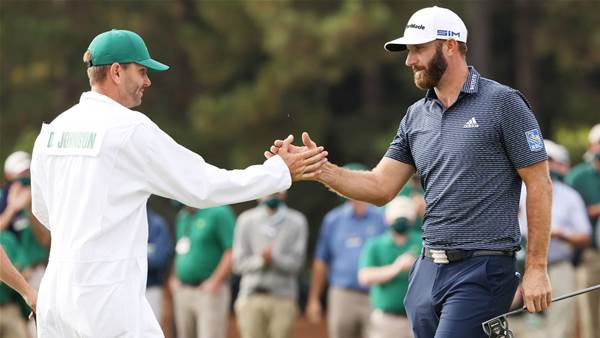 Little bro shares Johnson's Masters win