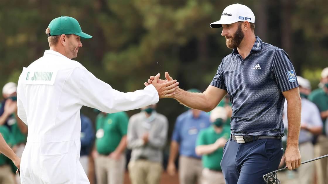 Little bro shares Johnson's Masters win