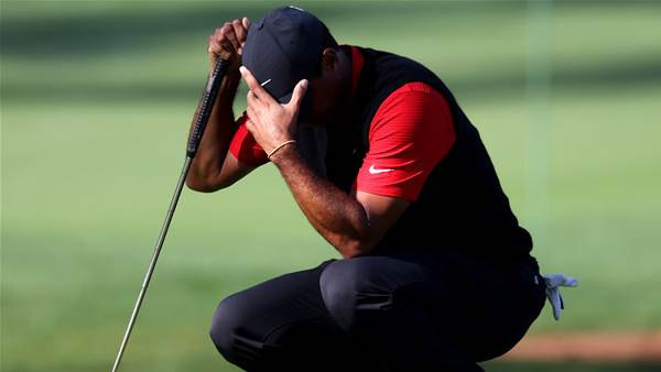 Masters missing 'bummed' Tiger Woods