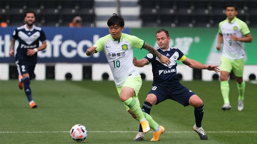 Victory lose to Beijing