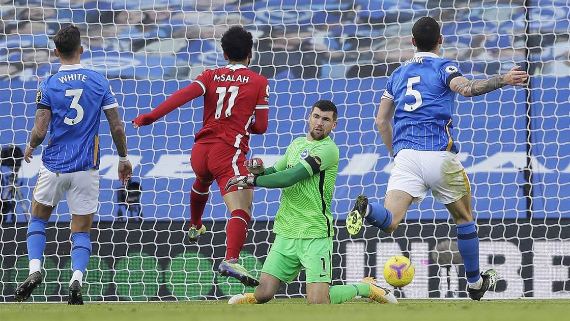 Brighton hold Liverpool, City win in EPL