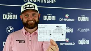 Sullivan shoots remarkable 61 in Dubai