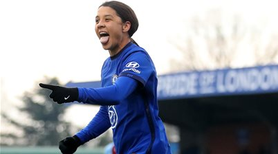Every season ticket for Sam Kerr's Chelsea sold out in two weeks