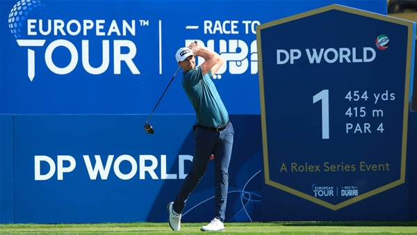 Perez leads World Tour Championship